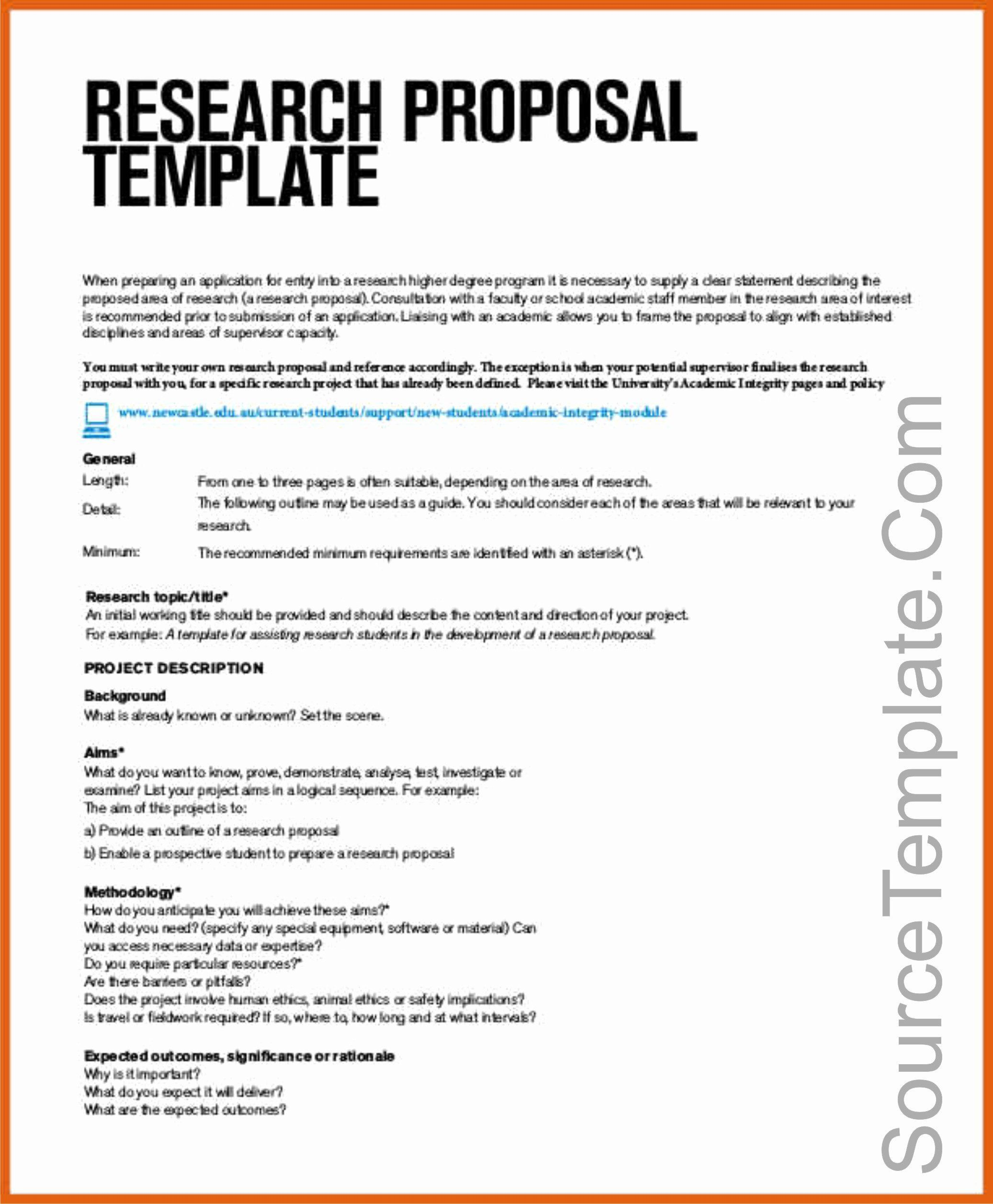 003 Dreaded Research Topic Proposal Template Inspiration  Format Paper ExampleFull