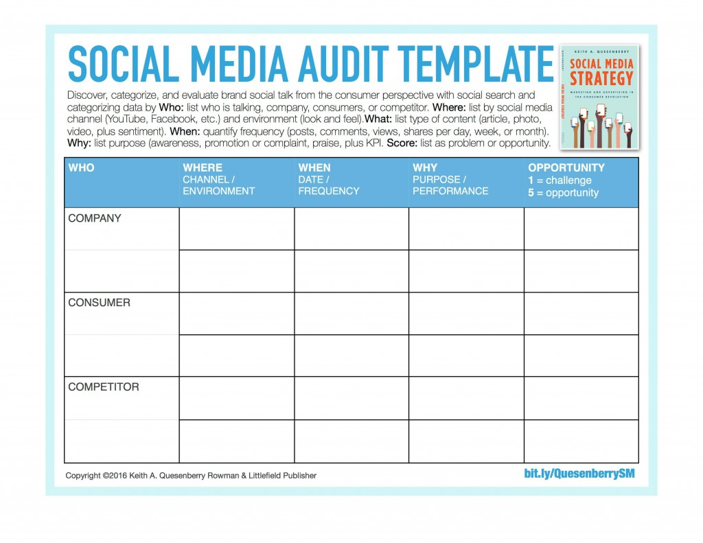 003 Dreaded Social Media Strategy Template Pdf High Resolution  Sample ContentLarge