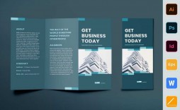 003 Dreaded Template For Trifold Brochure Design  Tri Fold Indesign A4 Free In Word Download