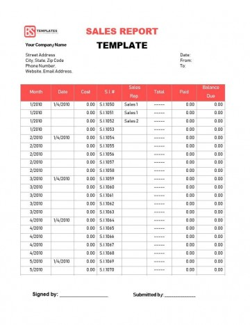 003 Dreaded Weekly Sale Report Template Photo  Free Download Call Example Xl360