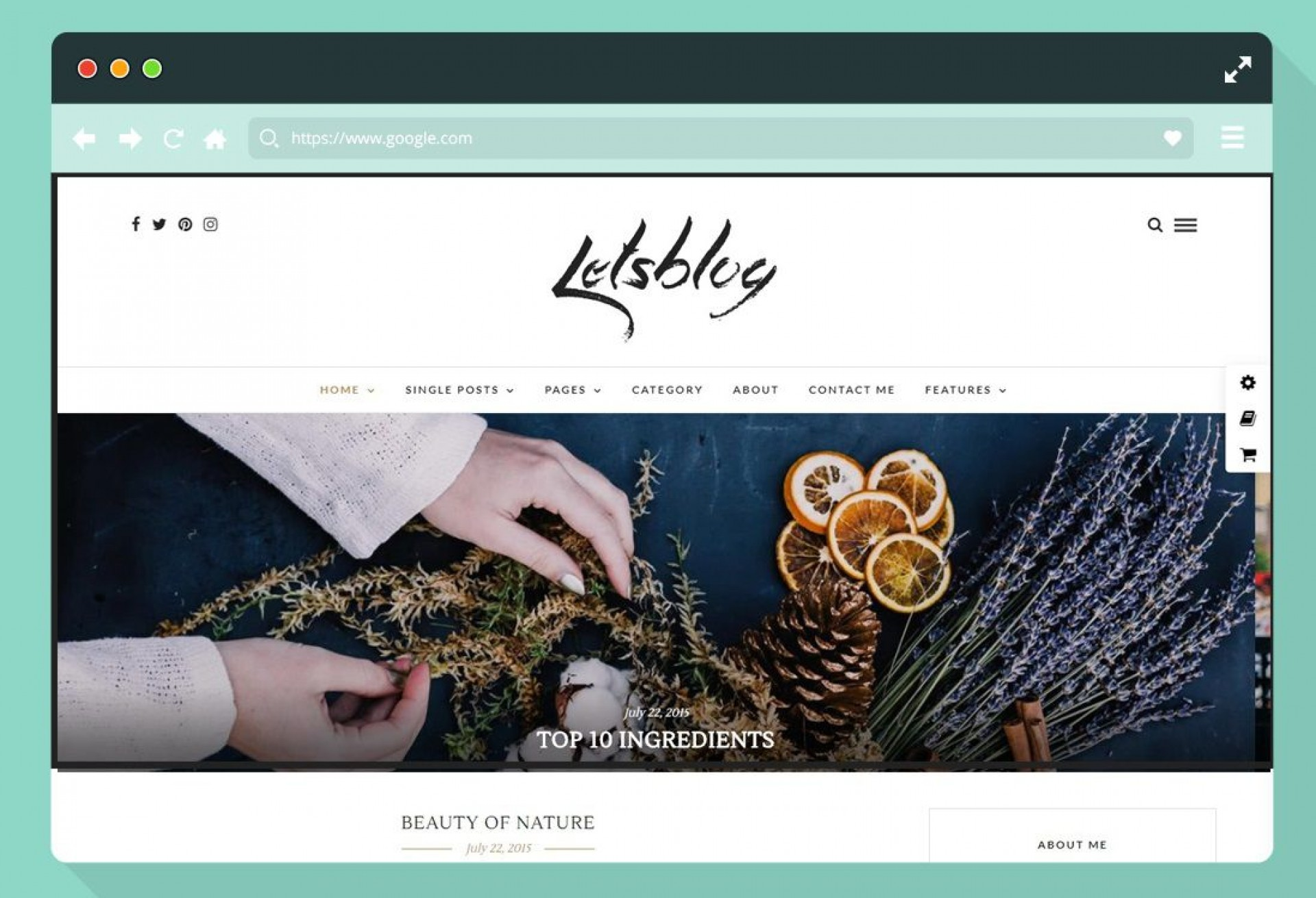 003 Excellent Best Free Responsive Blogger Template 2015 High Def 1920
