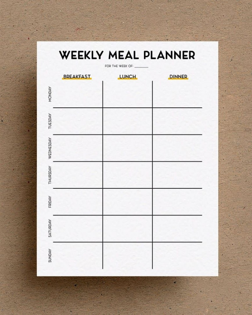 003 Excellent Eating Plan Template Pdf High Definition  Diabetic Meal Downloadable Dinner