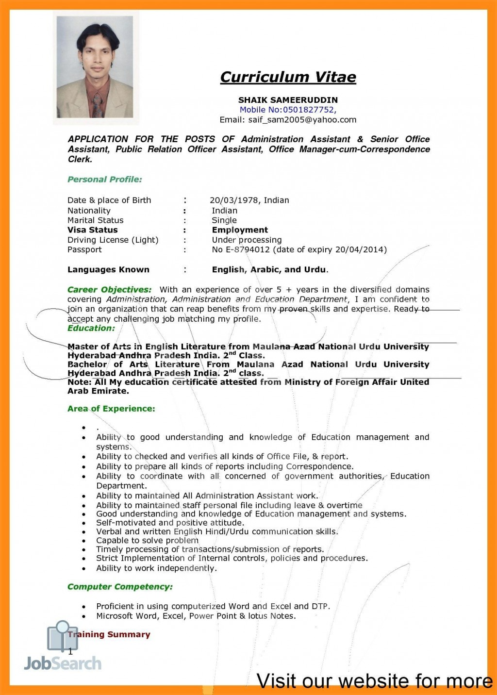 003 Excellent Entry Level Resume Template Word Download Highest Quality Large