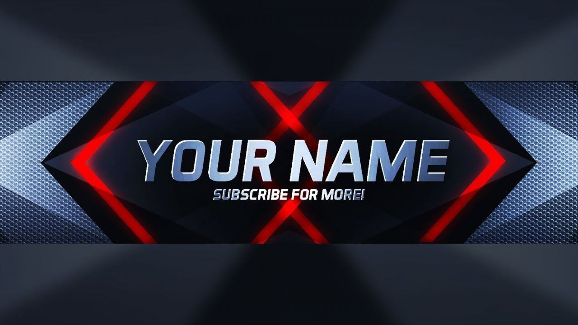 003 Excellent Free Channel Art Template Image 1920