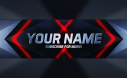 003 Excellent Free Channel Art Template Image