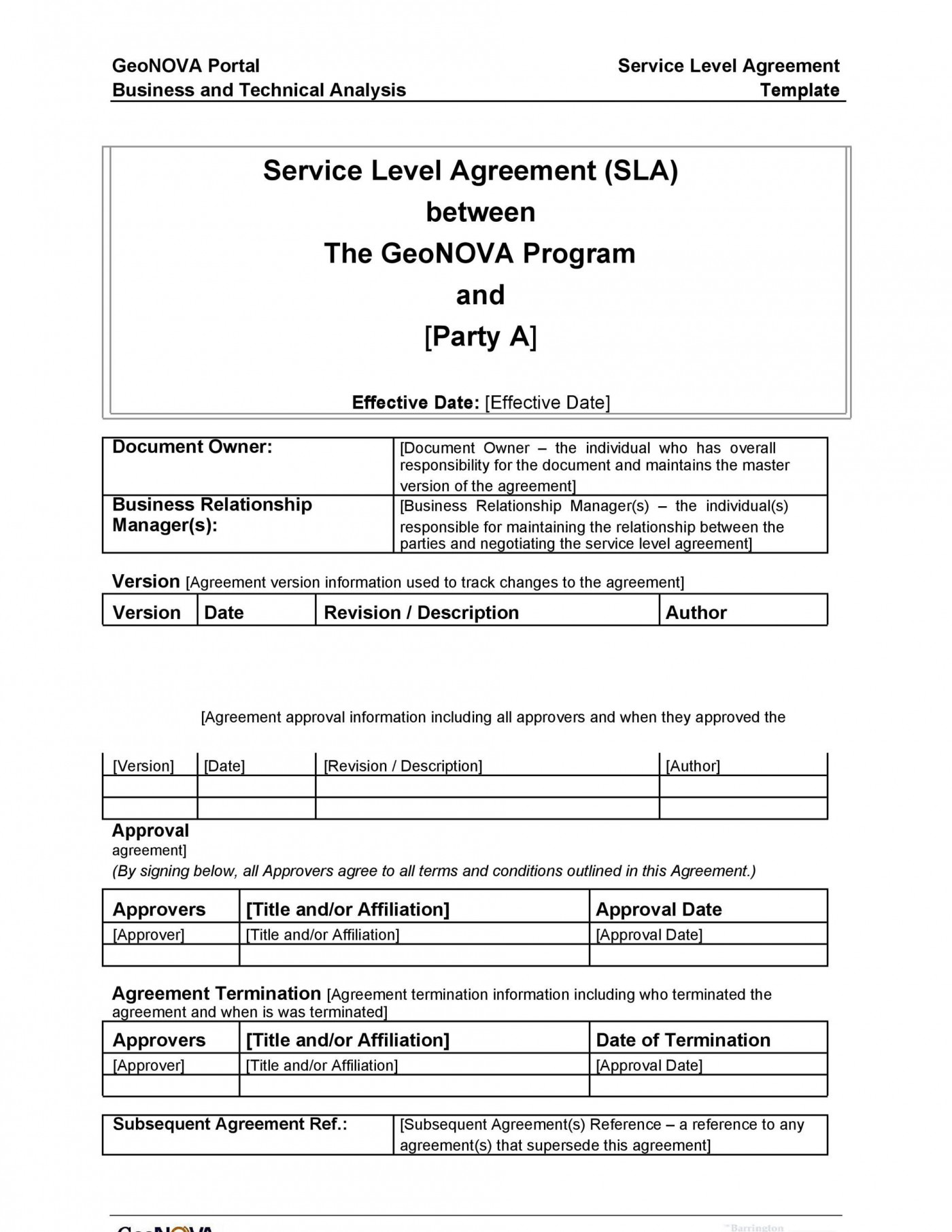 003 Excellent Free Service Contract Template Download High Def  Level Agreement Ndi1400