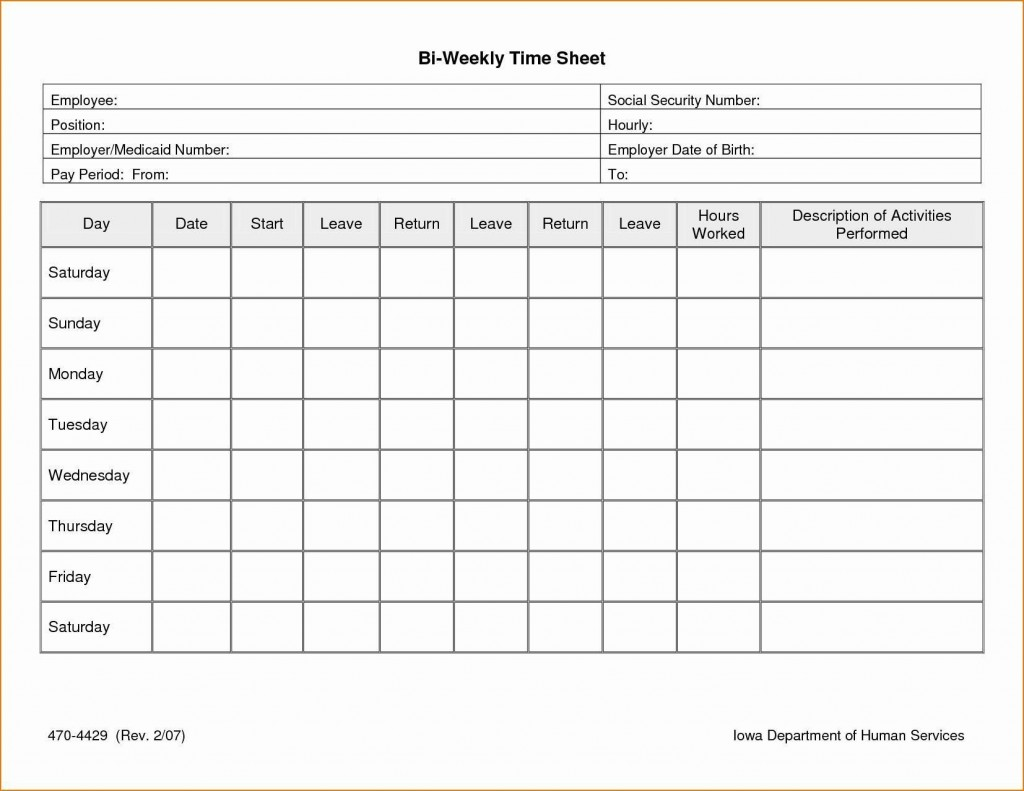 003 Excellent Free Weekly Timesheet Template Example  For Multiple Employee Biweekly Excel With FormulaLarge