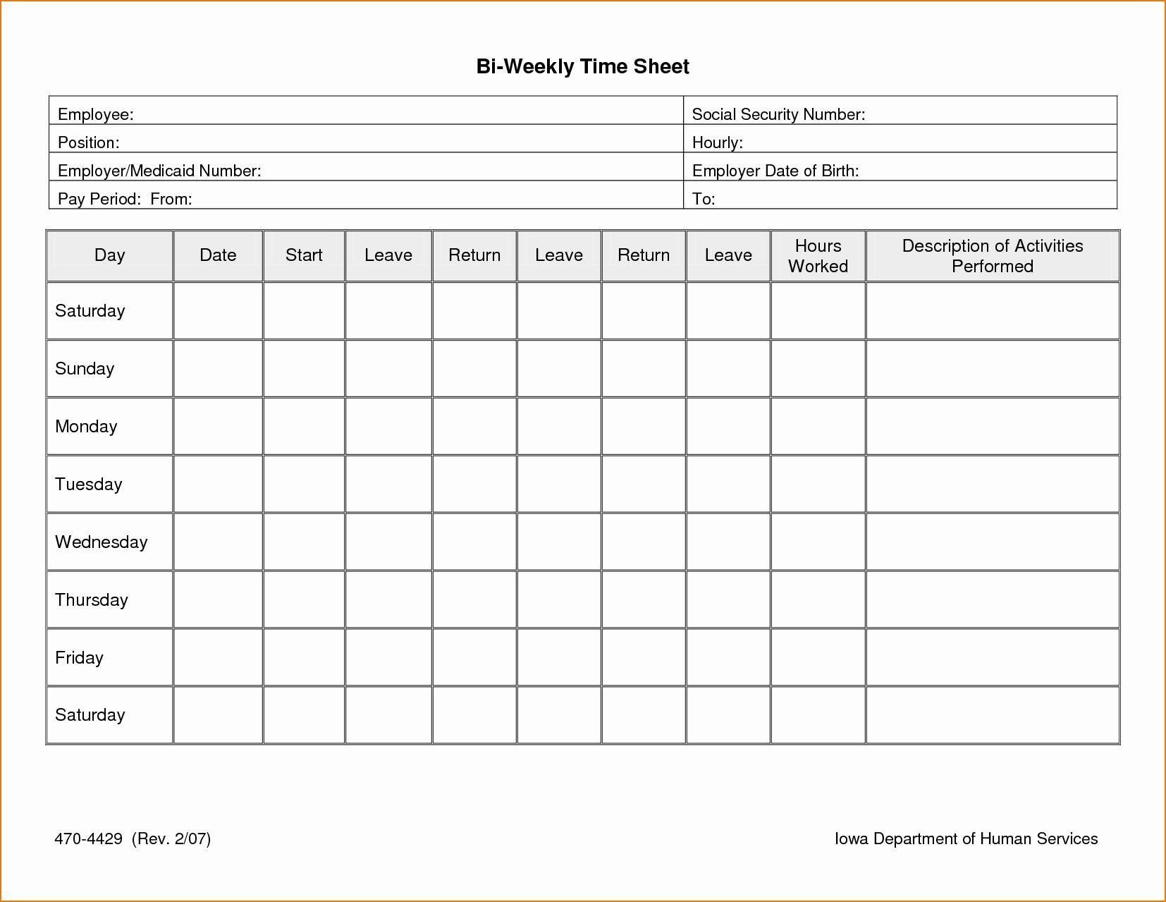 003 Excellent Free Weekly Timesheet Template Example  For Multiple Employee Biweekly Excel With FormulaFull
