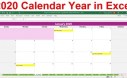 003 Excellent Microsoft Excel Calendar Template Idea  Office 2013 M Yearly 2019