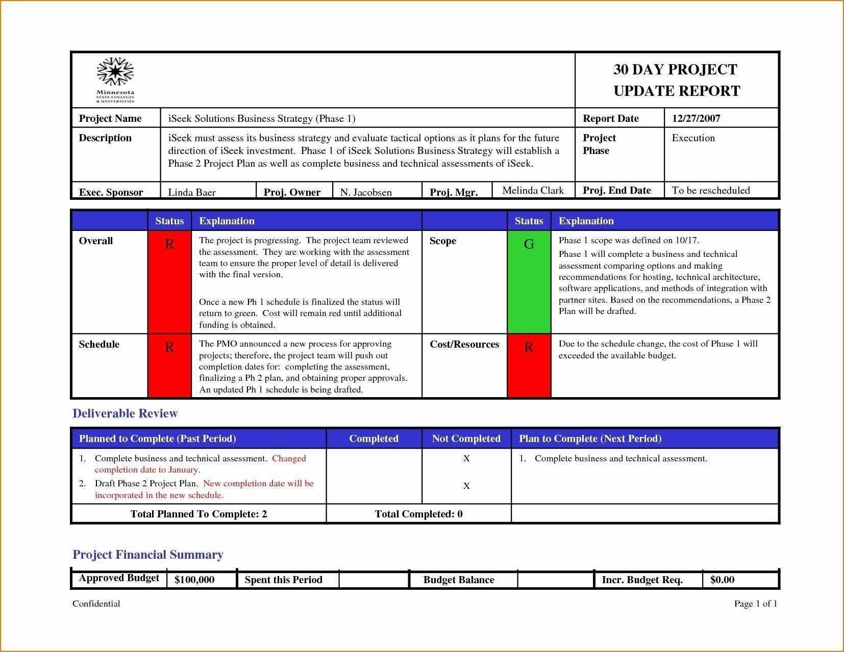 003 Excellent Project Management Weekly Statu Report Template Ppt High Resolution  Template+powerpointFull