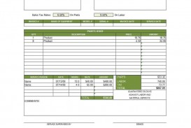 003 Excellent Service Invoice Template Free Highest Clarity  Rendered Word Auto Download