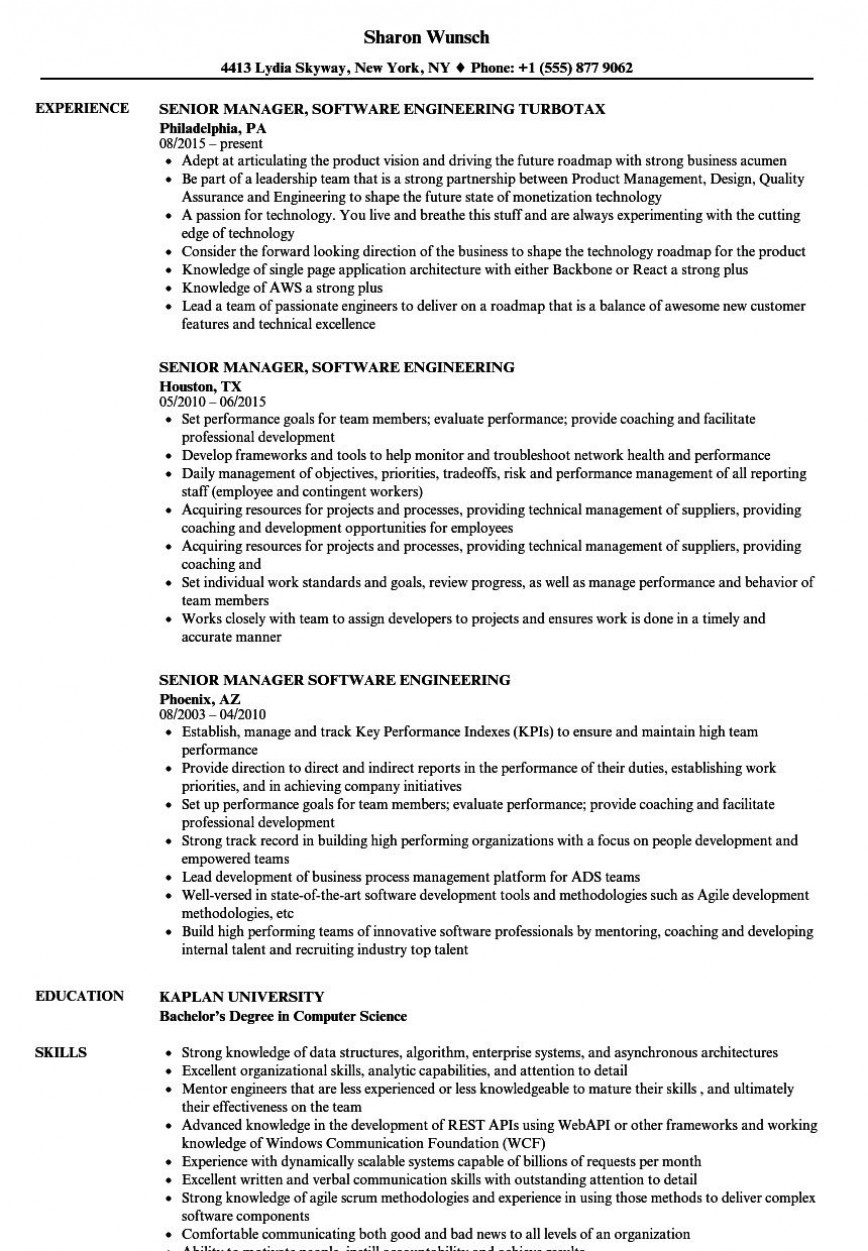 Software Engineer Cv Template from www.addictionary.org