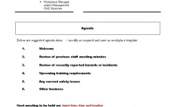 003 Excellent Staff Meeting Agenda Template High Def  Example Format