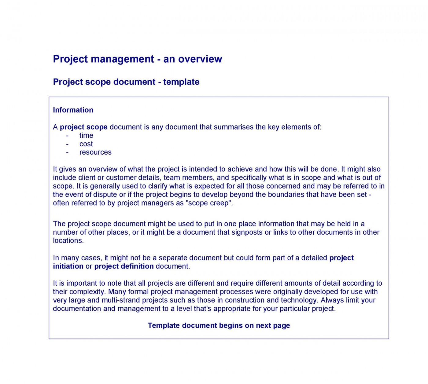 003 Excellent Statement Of Work Example Project Management Image 1400