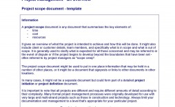 003 Excellent Statement Of Work Example Project Management Image