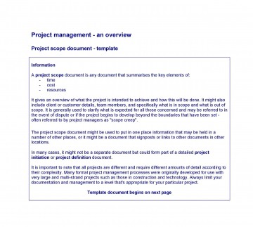 003 Excellent Statement Of Work Example Project Management Image 360