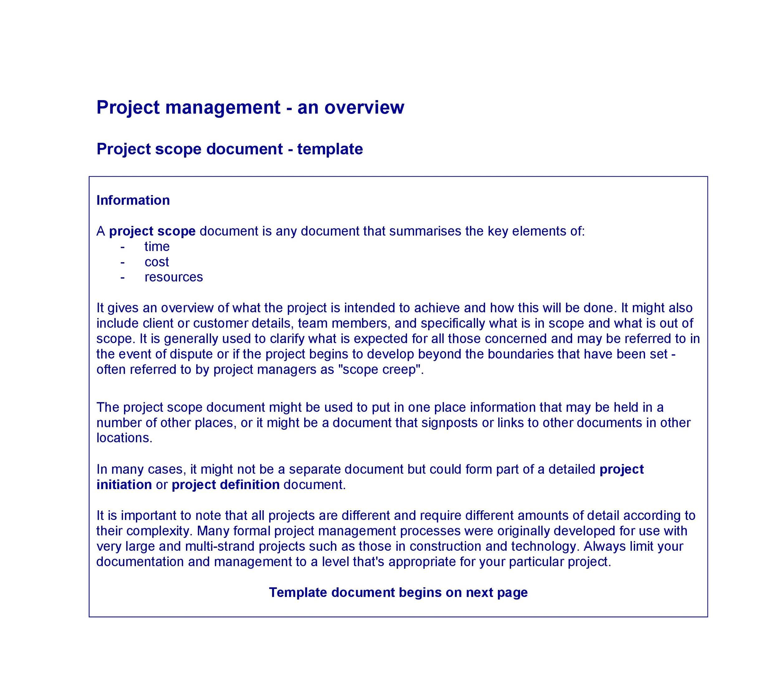 003 Excellent Statement Of Work Example Project Management Image Full