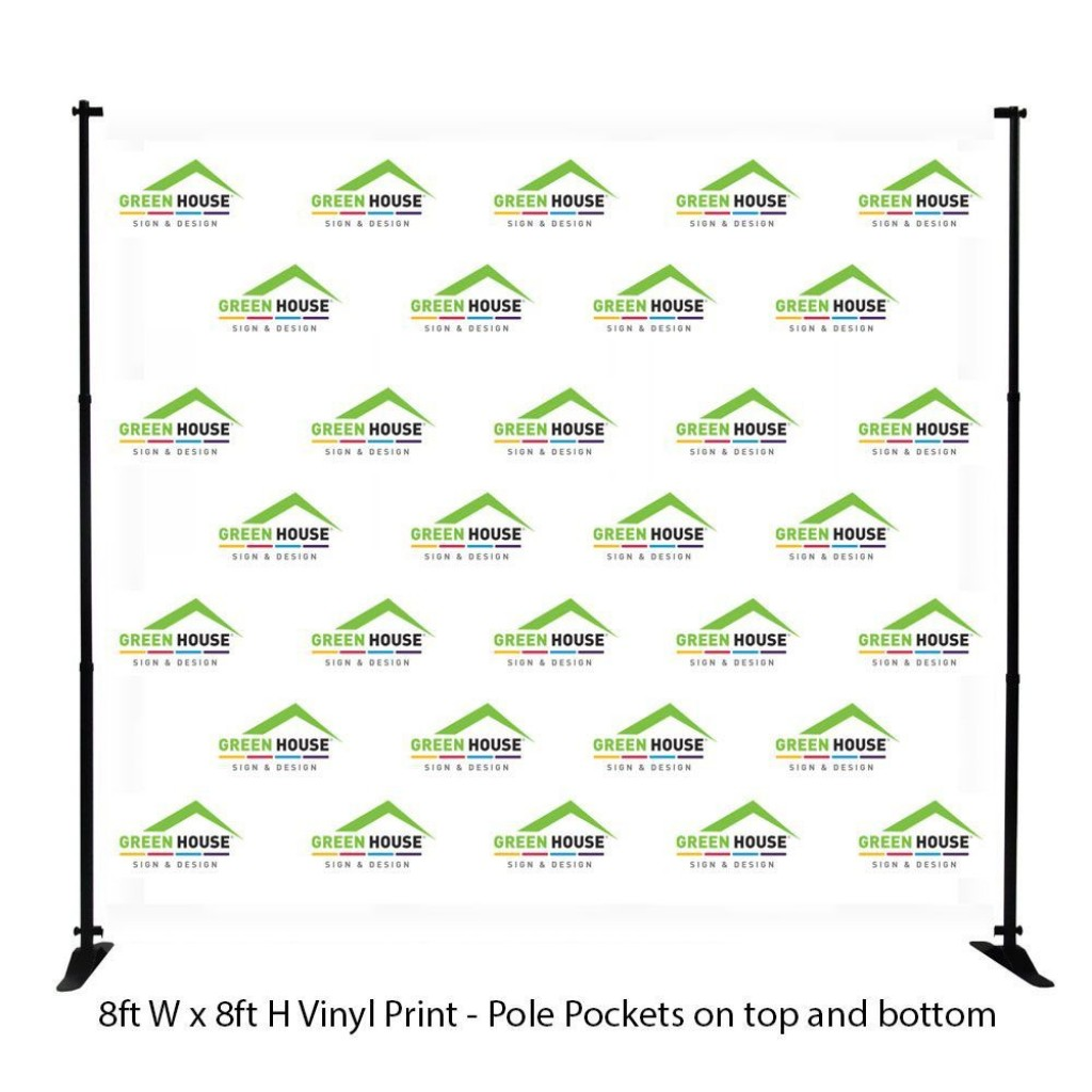 003 Excellent Step And Repeat Banner Template Photo  Psd Photoshop 8x8Large
