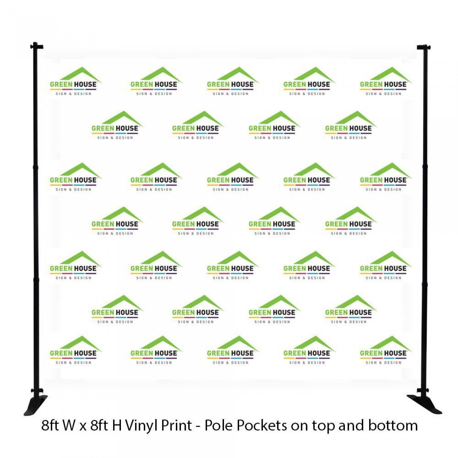 003 Excellent Step And Repeat Banner Template Photo  Psd Photoshop 8x81920