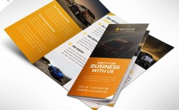 003 Excellent Three Fold Brochure Template Psd Photo  A4 3 Free