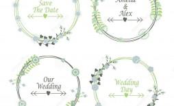 003 Excellent Wedding Addres Label Template Design  Free Printable