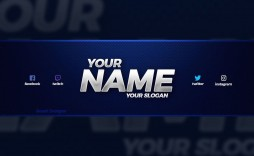 003 Excellent Youtube Channel Art Template Photoshop Download Inspiration