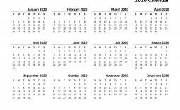 003 Exceptional 2020 Payroll Calendar Template Design  Biweekly Canada Free Excel