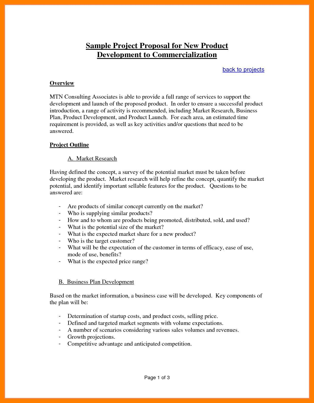 003 Exceptional Busines Proposal Sample Pdf Free Download Idea  ProjectFull