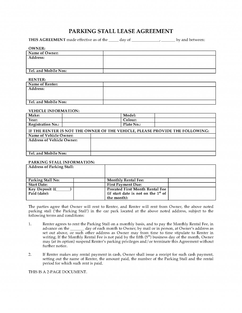 003 Exceptional Car Lease Agreement Template High Definition  Vehicle Ontario Rental Singapore LeasingLarge