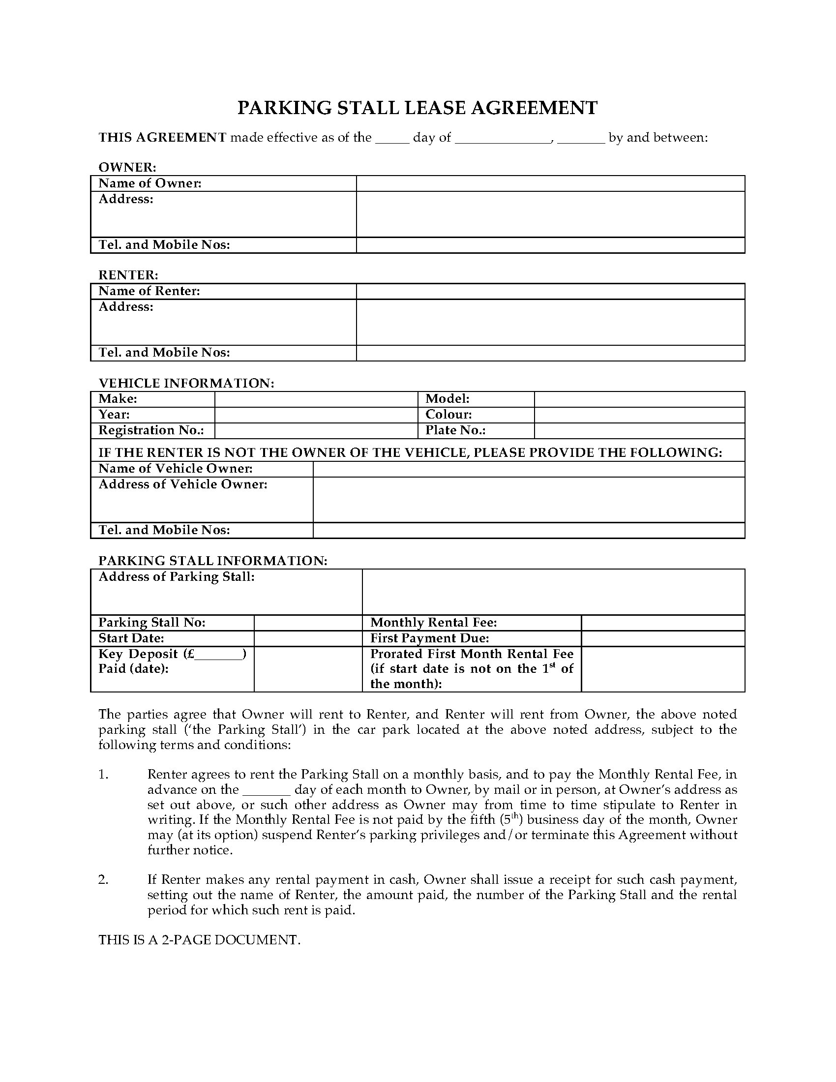 003 Exceptional Car Lease Agreement Template High Definition  Vehicle Ontario Rental Singapore LeasingFull