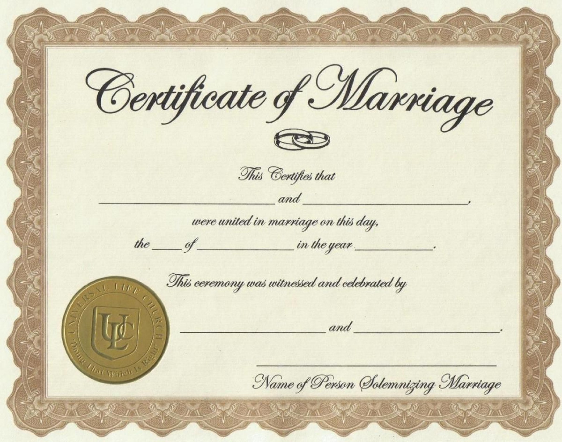 003 Exceptional Certificate Of Marriage Template Highest Clarity  Word Australia1920