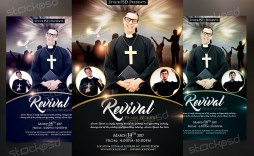 003 Exceptional Church Flyer Template Free High Def  Easter Anniversary Conference Psd