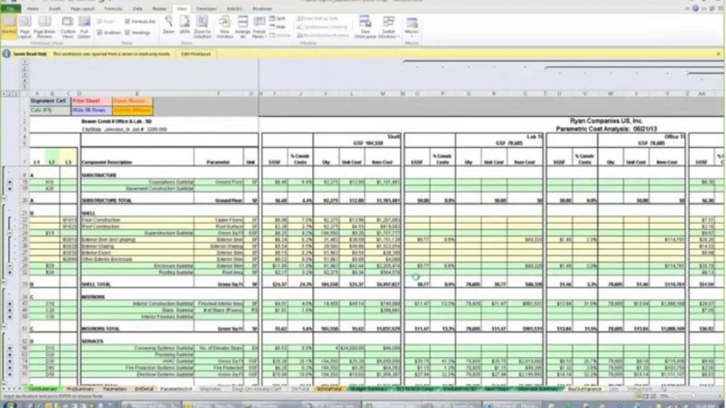 003 Exceptional Construction Cost Estimate Template Excel Concept  House Free In India CommercialLarge