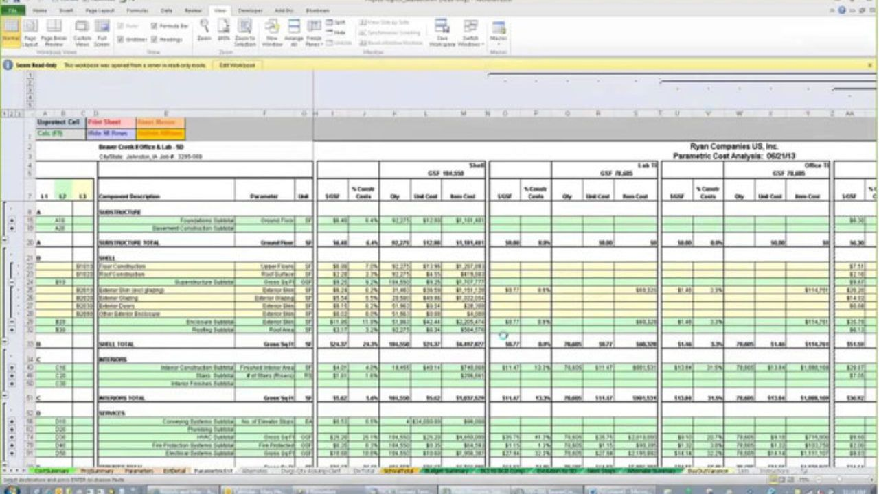003 Exceptional Construction Cost Estimate Template Excel Concept  House Free In India CommercialFull