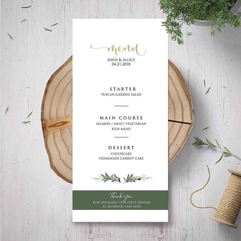 003 Exceptional Dinner Party Menu Template Inspiration  Word Elegant Free Google DocLarge