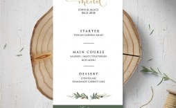 003 Exceptional Dinner Party Menu Template Inspiration  Word Elegant Free Google Doc