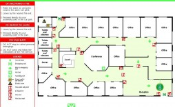 003 Exceptional Fire Escape Plan Template Concept  Evacuation Free Busines Uk