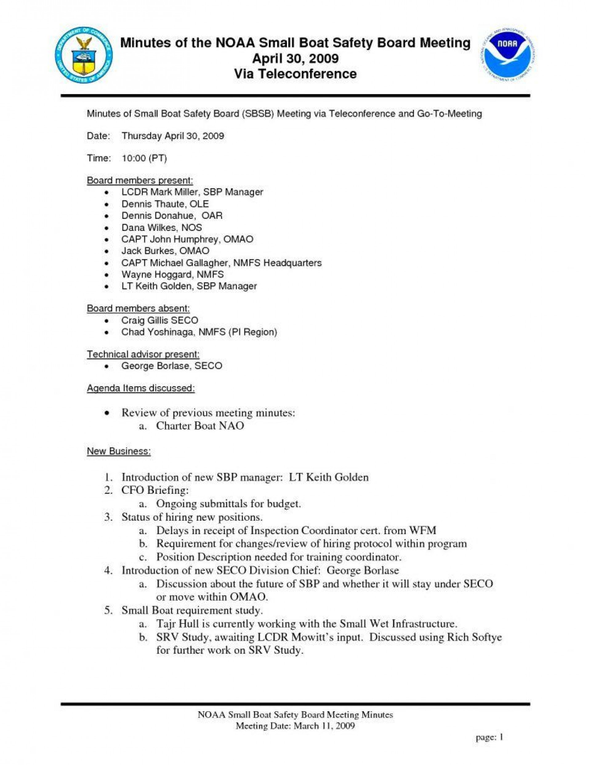 003 Exceptional Formal Meeting Agenda Example  Template Free Sample1920