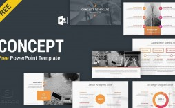003 Exceptional Free Powerpoint Template Design Highest Clarity  For Student Food Busines