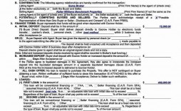 003 Exceptional Real Estate Purchase Contract Form California Idea  Agreement Free Sale