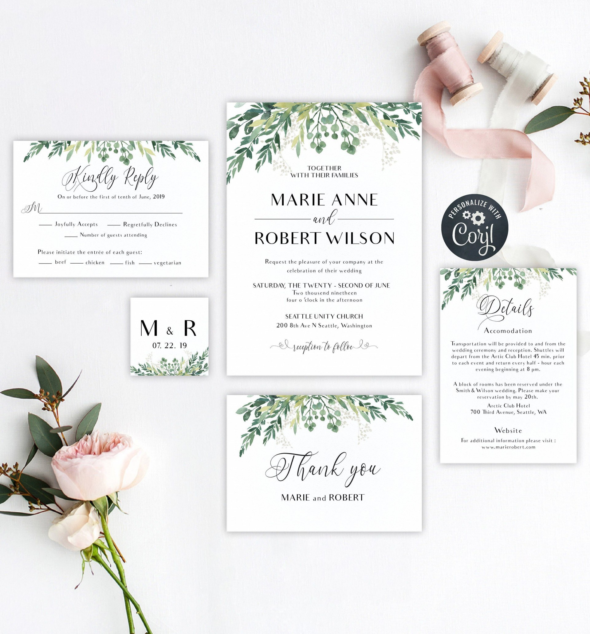 003 Exceptional Rustic Wedding Invitation Template Design  Templates Free For Word Maker Photoshop1920