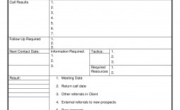 003 Exceptional Sale Call Report Template Idea  Free Weekly Excel Pdf