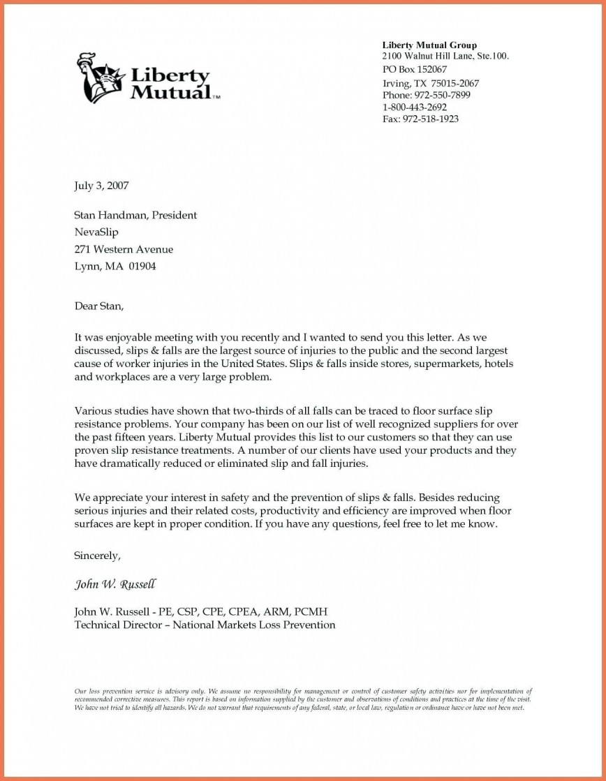 003 Exceptional Sample Busines Letter Template  Of Intent Formal Free