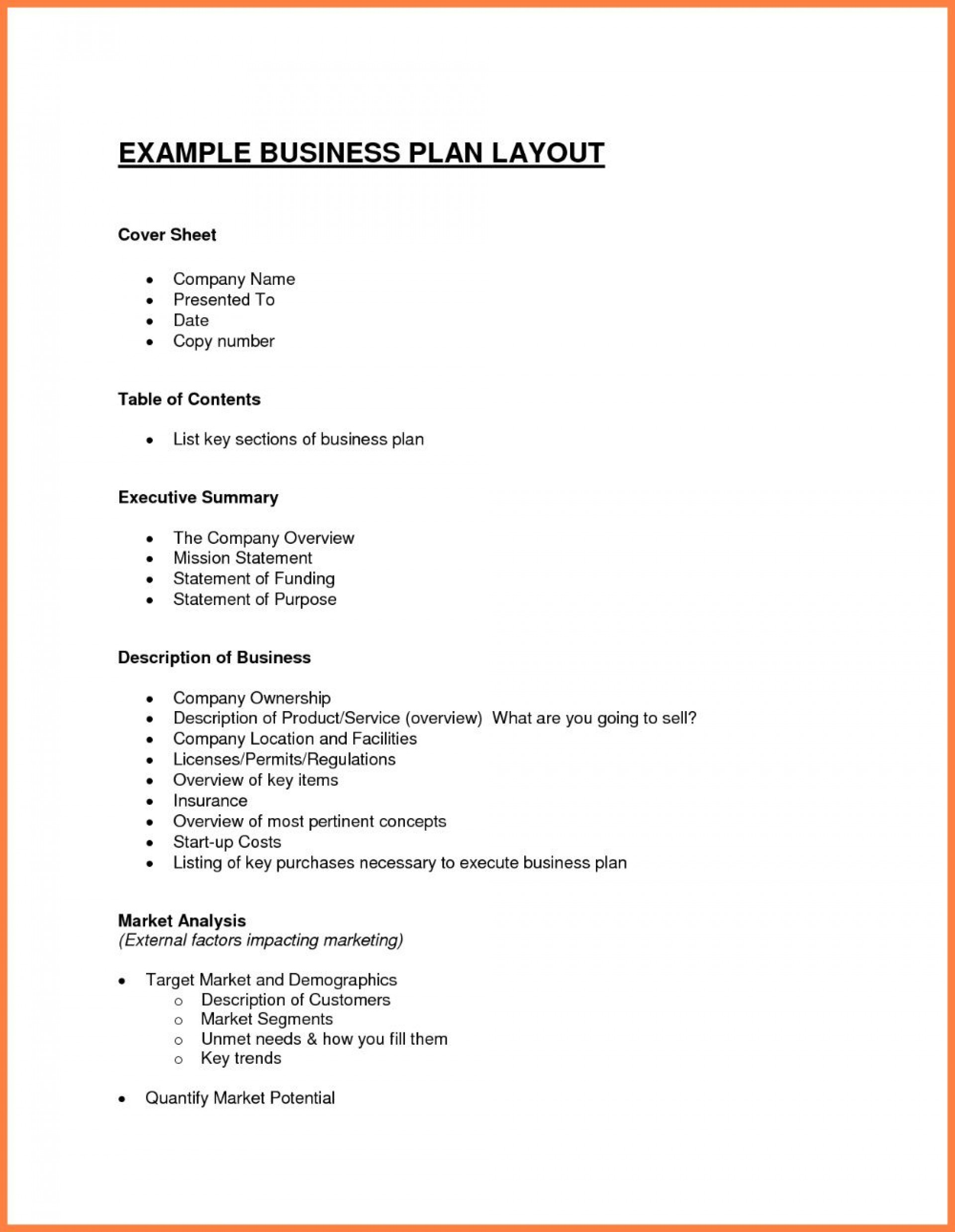 003 Exceptional Simple Busines Plan Template Free Picture  Word Document Download1920