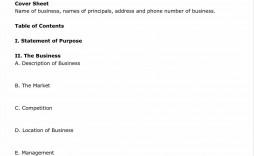 003 Exceptional Startup Restaurant Busines Plan Sample Pdf Highest Quality