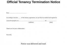 003 Exceptional Template Letter To Terminate Rental Agreement Design  End Tenancy For Landlord Ending