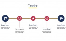 003 Exceptional Timeline Example Presentation Image  Project Slide Template
