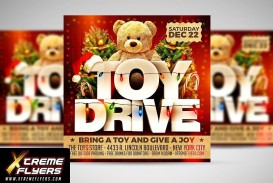 003 Exceptional Toy Drive Flyer Template Free Photo  Download Christma