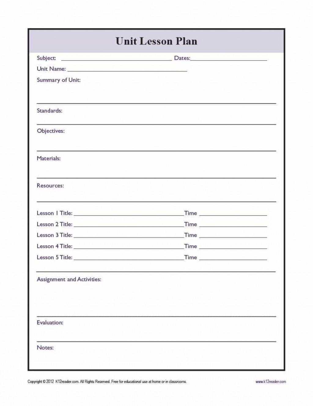 003 Exceptional Unit Lesson Plan Template High Def  Templates Thematic Example Mini FormatLarge