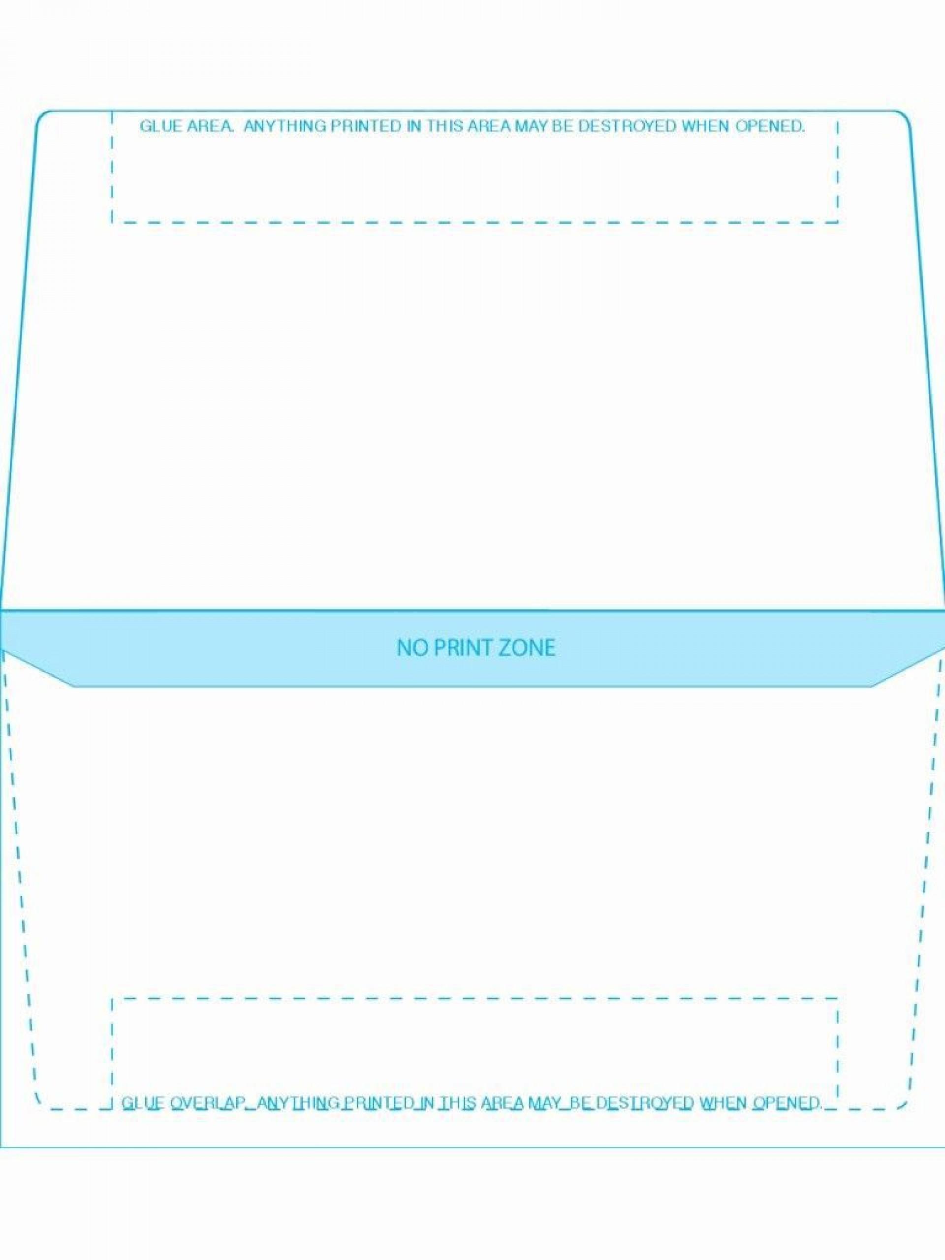 003 Fantastic 10 Envelope Template Word Design  Size Microsoft #10 Double Window1920